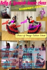 Shape up belly dance of Lucia !! with Tomoyo