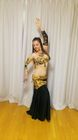 Lucia's Spanish Belly Dance Lesson!!